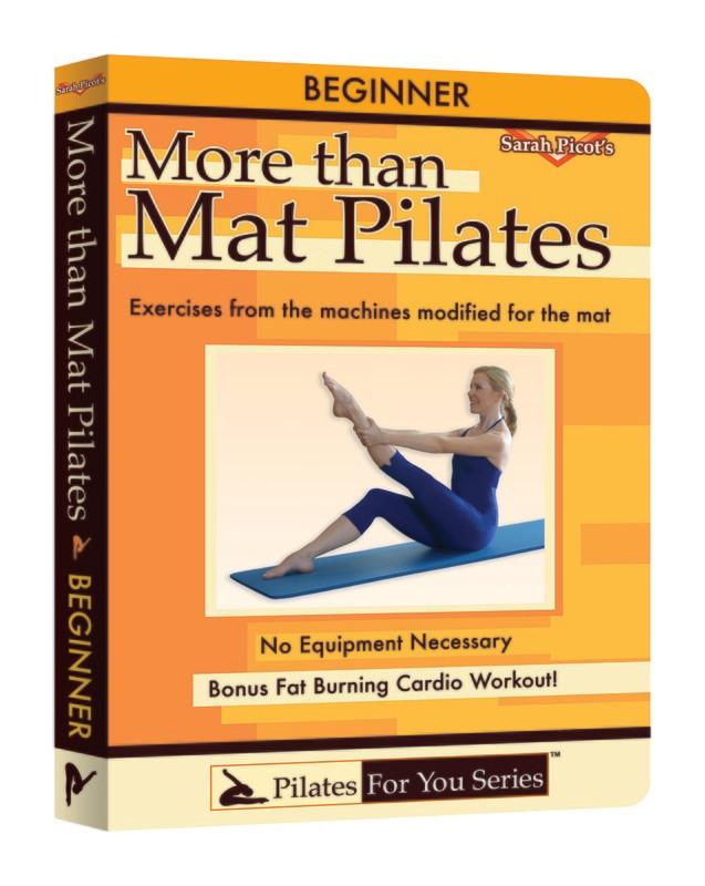 More Than Mat Pilates- Beginner DVD