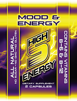 High 5 Energy Mood & Energy Free Sample (Contains 2 Capsules)