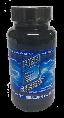High 5 Energy Fat Burner Bottle 60ct