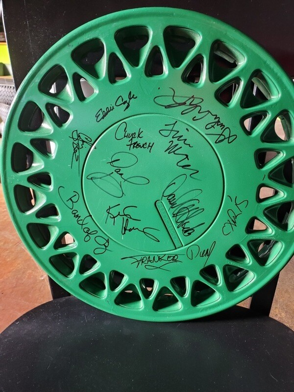 Band of Oz signed Hubcap