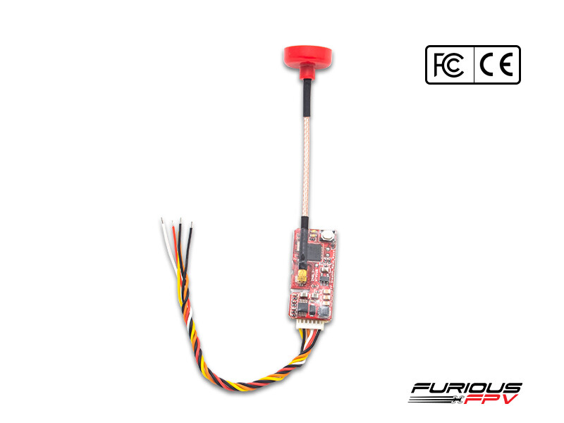 FuriousFPV Stealth Nano Race VTx Combo (with 2 antennas)