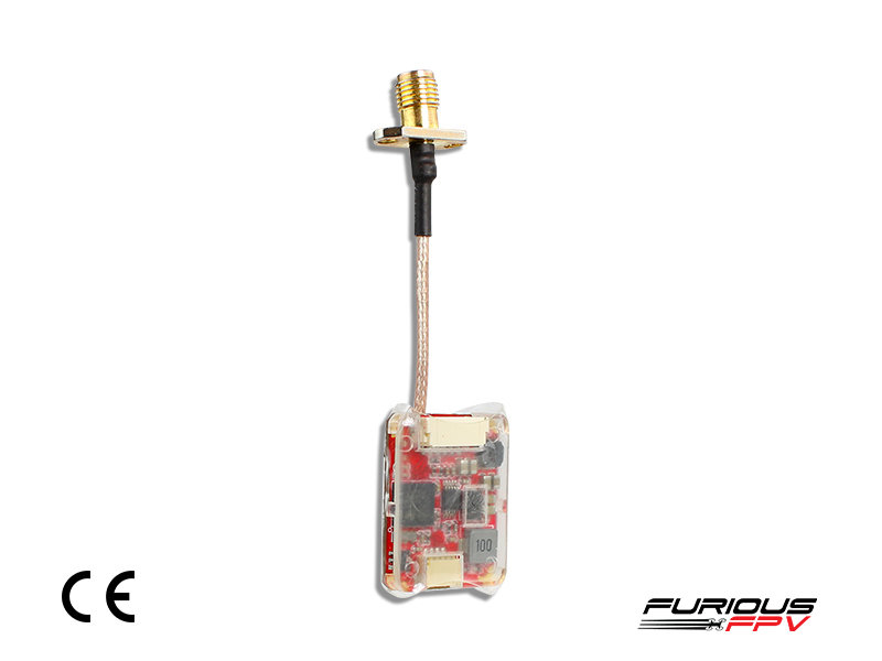 FuriousFPV Adjustable STEALTH RACE VTX V3 with PIT MODE