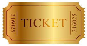 Recital ticket