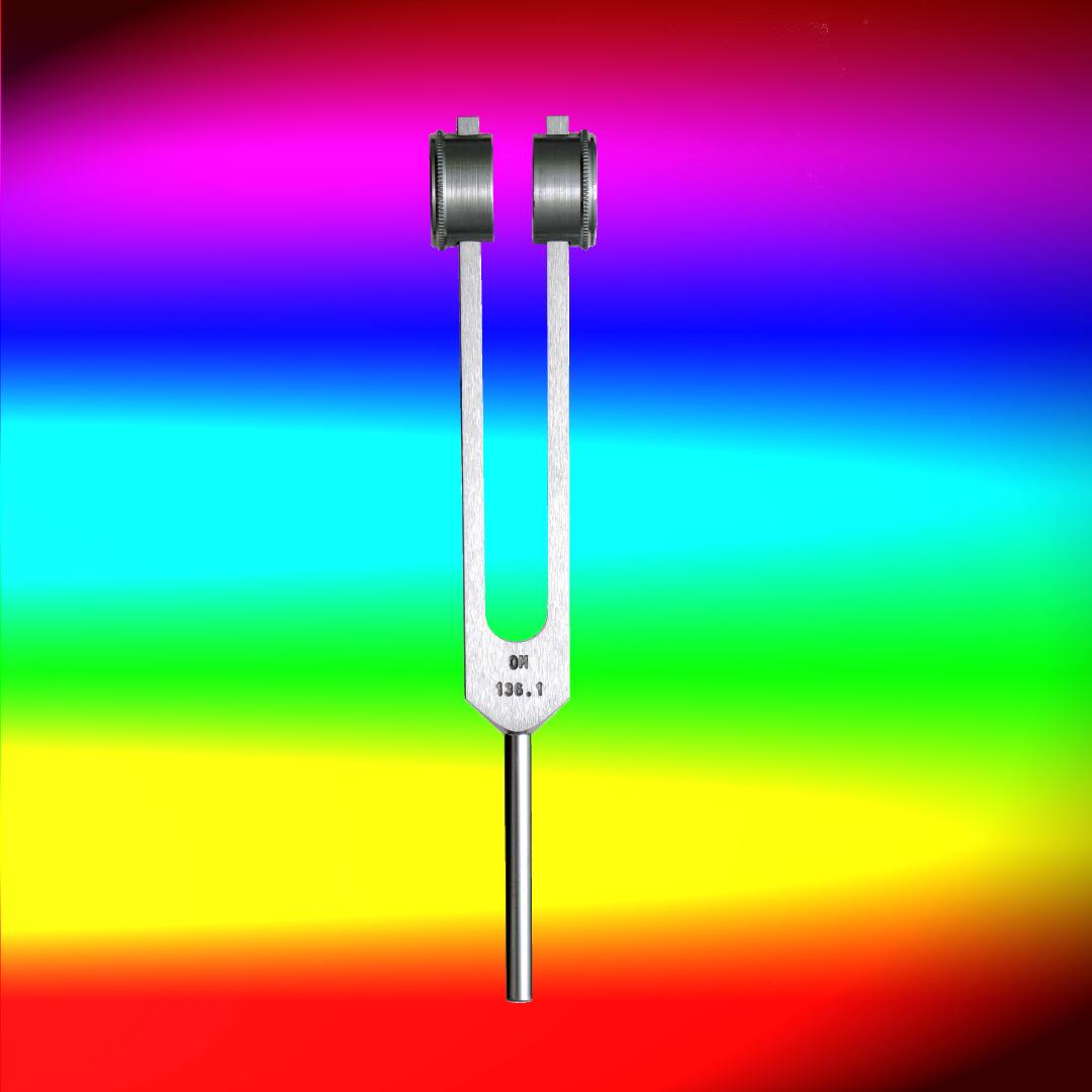 OM-Tuner 136.1 Hz Der Regenbogenklang