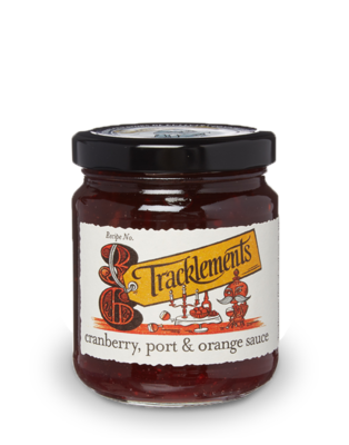 Tracklements Cranberry, Port & Orange Sauce