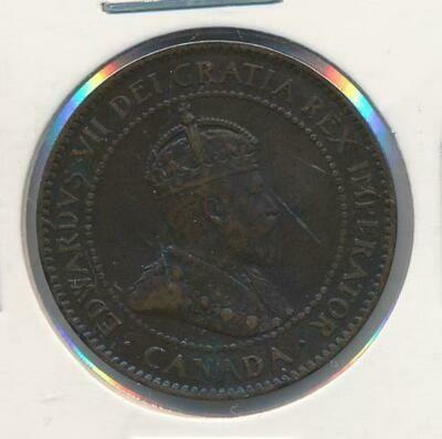 Канада. Эдвард VII. 1903. 1 цент. Cu. 5.67 g. VF ***