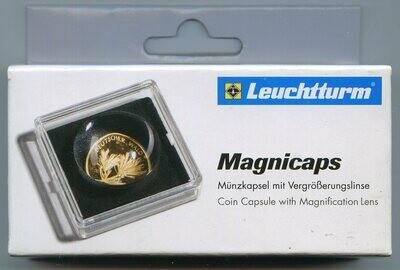 Капсулы для монет с встроенной увеличительной линзой 18.00 мм. 1 * 2 шт. Lighthaus / Leuchtturm.