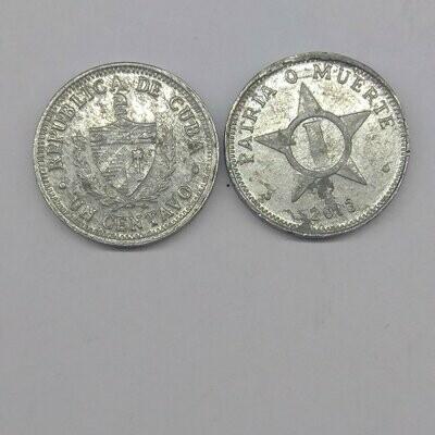 Cuba. 2013. 1 centavo CUP. Star. Type: 1915. Al. 0.750 g., KM#33.3. VF