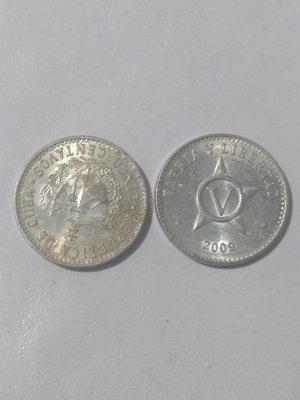 Cuba. 2008. 5 centavos CUP. Star. Type: 1915. Aluminium. 1.500 g., KM#34. VF