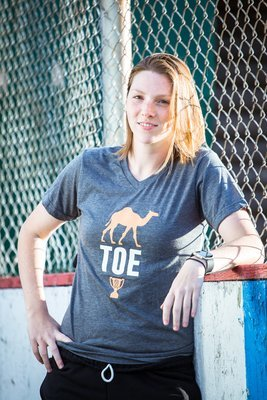 The Camel Toe Cup Grey Tshirt