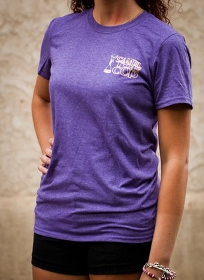 The Camel Toe Cup Purple Tshirt