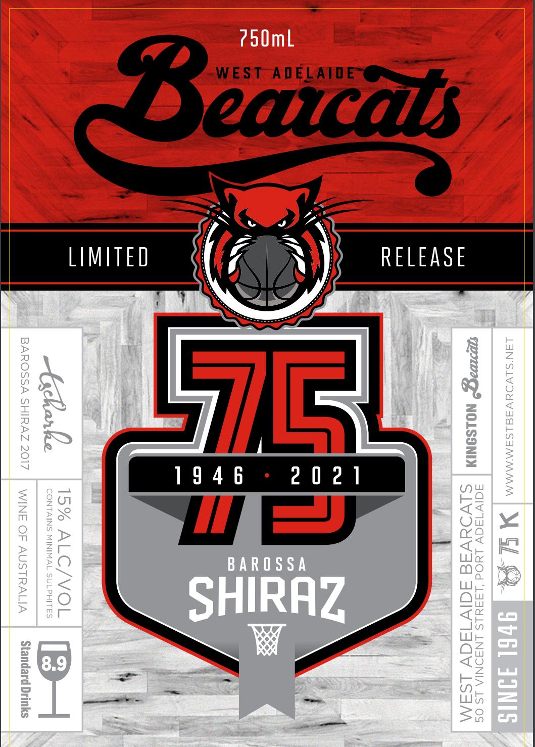 Bearcats 75th Anniversary Shiraz (dozen)