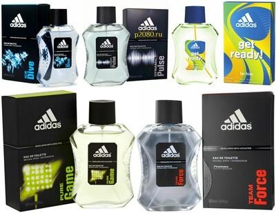 Мужская туалетная вода Adidas (Адидас) в ассортименте 100мл