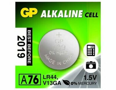 Алкалиновая батарейка GP ALKALINE CELL A76 LR44 1шт