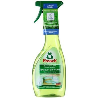 Очиститель для ванны и душа Frosch (Фрош) Зеленый Виноград 500мл