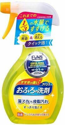Спрей-пенка чистящая для ванной комнаты DAIICHI FUNS с ароматом апельсина и мяты 380мл