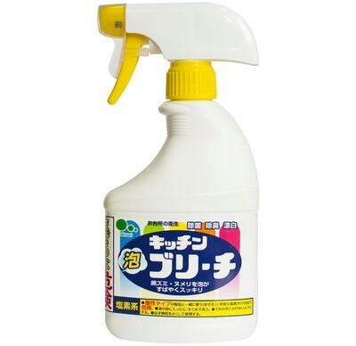 Спрей-пенка для кухни отбеливающим и дезинфицирующим эффектом Mitsuei 400мл