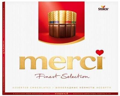 Шоколадный набор Storck Merci (Мерси) Ассорти 250гр