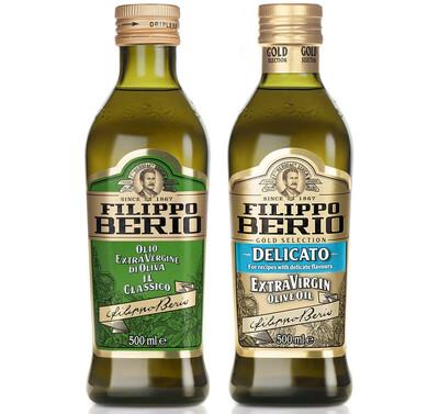 Оливковое масло FILIPPO BERIO EXTRA VIRGIN CLASSICO или DELICATO 500мл
