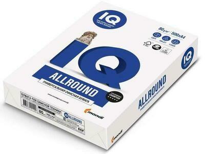 Офисная бумага Mondi IQ ALLROUND А4 класса B 500 листов