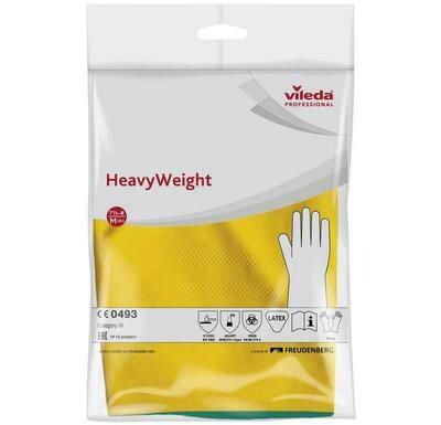 Усиленные латексные перчатки с неопреном Vileda Professional HeavyWeight размер (S,M,L,XL) 1 пара