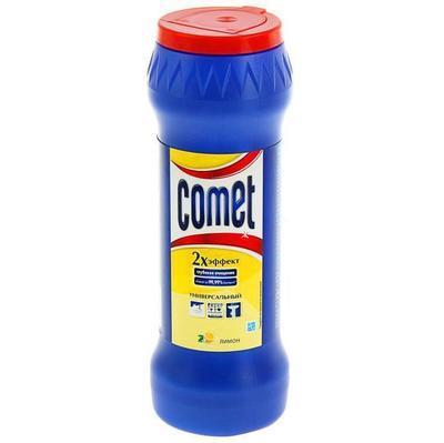 Универсальный чистящий порошок Comet (Комет) 2х эффект Лимон 475гр
