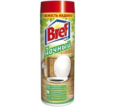 Порошкообразное дезодорирующее средство для туалета Bref (Бреф) Дачный 450гр