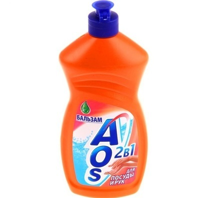 Средство для мытья посуды и рук 2в1 AOS (АОС) Бальзам 500мл