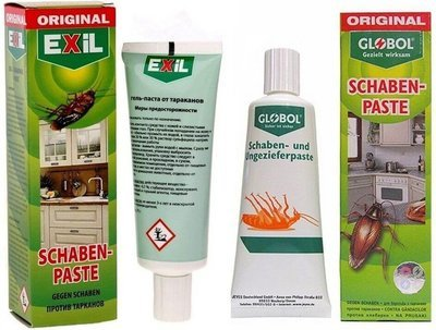 Гель от тараканов и муравьев Exil Globol (Эксил Глобол) 75гр