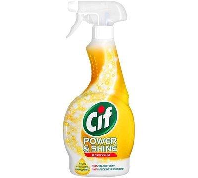Универсальный чистящий спрей для кухни Cif (Сиф) Power&Shine 500мл или 750мл