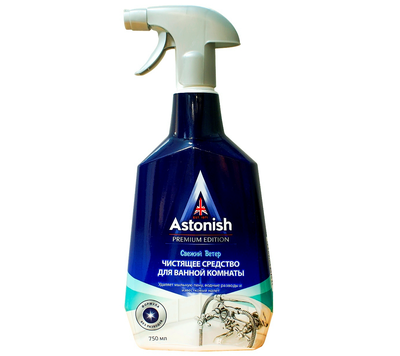 Чистящее средство для ванной комнаты Astonish (Астониш) Свежий ветер 750мл