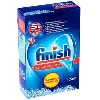 Специальная соль для посудомоечных машин Finish (Финиш) 1,5кг