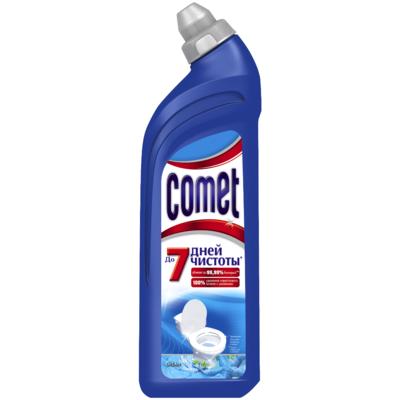 Чистящий гель для туалета Comet (Комет) Океан 750мл