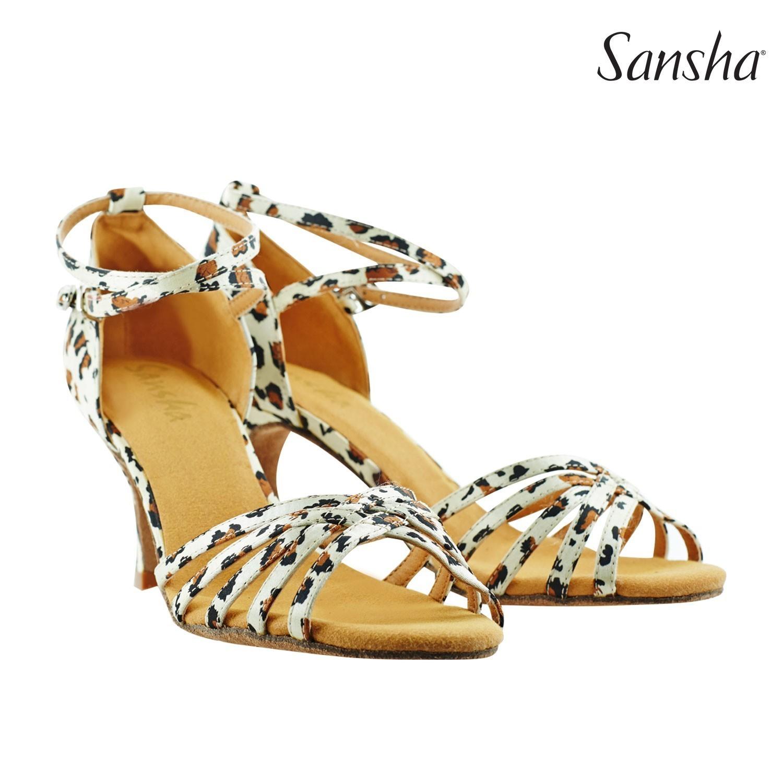 Cheetah Print Sansha Shoe Size 6/7