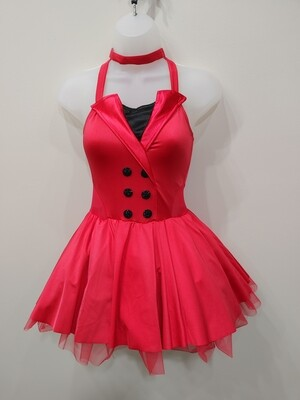 Red & Black dance/halloween costume