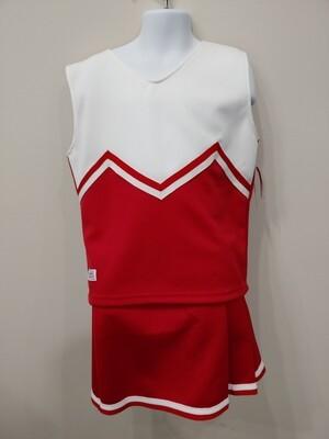 Cheer uniform red & white