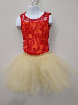 Firey Dance Costume