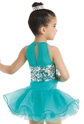 Emerald Green dance costume