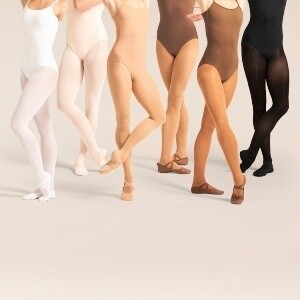 Bloch footed tights-CH