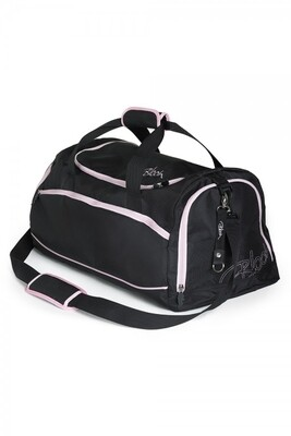 Bloch black/light pink dance bag A311