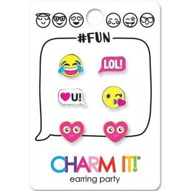 CHARM IT! Earrings Emoji