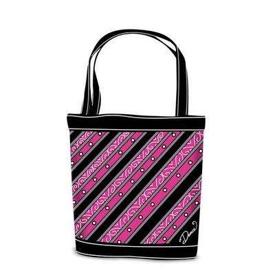 Striped Dance Tote
