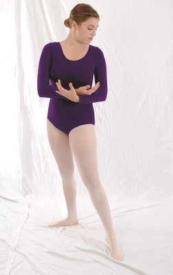 BM - Long Sleeve Leotard Adult