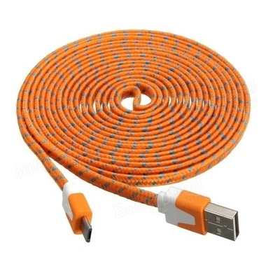 Micro USB cable, 3 meter long