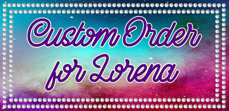 Custom Order for Lorena - Decal