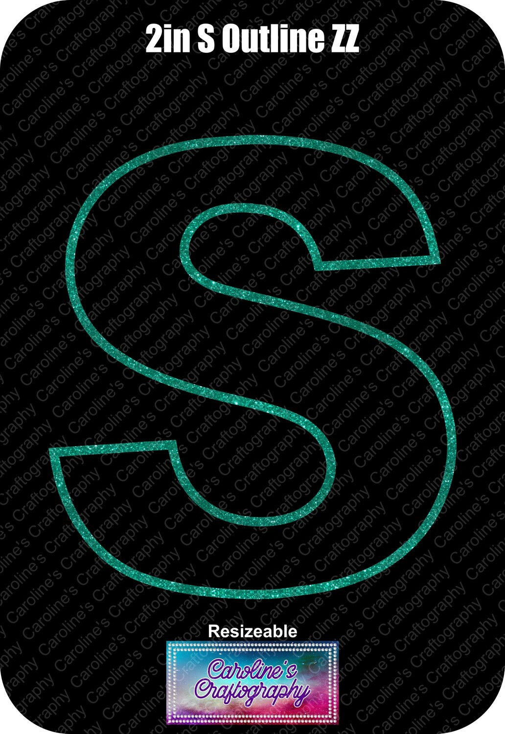 Letter S 2in Acrylic Download