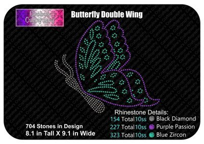 Butterfly Double Wing Stone