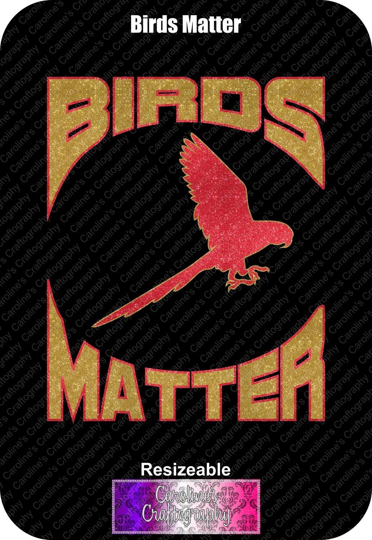 Birds Matter Vinyl