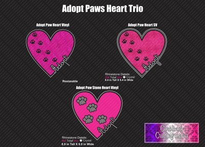 Adopt Paws Trio Bundle