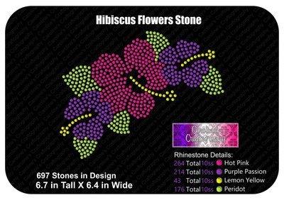 Hibiscus Flowers Stone